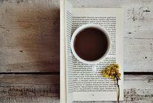 books and coffe/tea