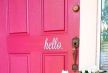 Ajtók / lehetséges bejárati ajtó színek