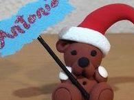 Broches y colgantes de Navidad / Broches y colgantes de Navidad