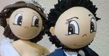 Fofucha de novios José y Noelia
