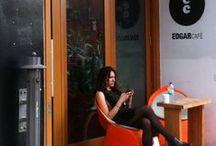Lounge extérieur / Un petit coin parfait pour se perdre dans ses pensées ou pour lire un bon livre à l'air frais.