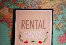 Rental Sweet Rental (small spaces)