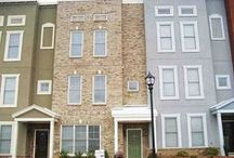 The Commons / The Commons at Historic Westside is conveniently located minutes from the Georgia Dome, Downtown Atlanta, and Phillips Arena. This gated Atlanta new homes community of custom Brownstone town homes provides easy access to all major interstates. The Commons at Historic Westside offers incredible style to suit your dream of in-town living.