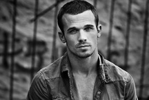 Cam Gigandet / Gotta love Cam. I first developed a crush while he played James in Twilight. But, Can't beat his sexxy role in Burlesque. And he can sure pull of the eyeliner. HOTT