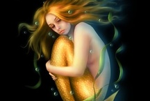 Mermaids / What a majestic force. Beauty, mystery, illusion. The Mermaids are magical. Love it!