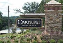 Oakhurst / Oakhurst will have 157 new craftsman homes priced from the mid $200,000s with unique streetscapes and landscaping plans. Brock Built will offer a variety of home designs including master up and down plans and our most unique homes in the Mews. The Mews will include picket fences gardens and trails that create a tight knit personable community. Amenities will include a grand Clubhouse, Jr. Olympic pool and playground.   http://www.brockbuilt.com/communities/oakhurst/