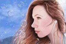 Digital Paintings & Illustrations / My digital artwork, shared via stephanieshimerdla.com.