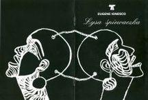 Graphic design / Graphic design -  theatre & TV & illustration. Designer - Irena Lisiewicz