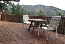 Deck Restoration in the Colorado Rockies