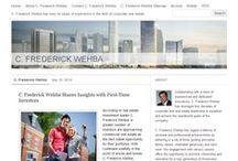 C. Frederick Wehba Websites / C. Frederick Wehba Websites