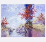Absolutely breath taking landscape paintings / Original Landscape Paintings