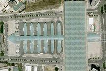 Lizbona z lotu ptaka / Lizbona widoczna z lotu ptaka na zdjęciach lotniczych i satelitarnych.   Źródła zdjęć: Google Earth i Google Mops
