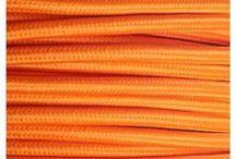 Cable Eléctrico de Colores - Fabrica tu lámpara / Los cables de #colores te permiten fabricar tu propia #lámpara usando multitud de combinaciones. Cables decorativos lisos y cables trenzados para dejar libre tu #imaginación