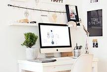 Workspace ideas / #workspace #office #design #decor #gadgets #ideas #work