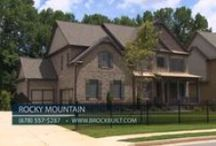 Rocky Mountain / Four uniquely designed Craftsman Style Homes by Brock Built, in a convenient East Cobb location! Award winning schools including Lassiter High School are minutes away as well as parks, shopping and dining.  The community offers floor plans ranging from 3,300 to 3,600sq.ft. Pricing is in the $600's. Don't miss out on this great opportunity! Follow the link for more details.  http://www.brockbuilt.com/communities/rocky-mountain/