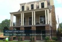 Adams Vineyard / Our upcoming new homes in Norcross GA at Adam's Vineyard features classic architecture such as oversized porches and historic detailing, complemented by modern, easy, open plan living with grand views of over 8 acres of majestic parks, vistas and Colonel John Adam's muscadine grapevines – designed with the most current land planning conservation techniques.  http://www.brockbuilt.com/communities/adams-vineyard/