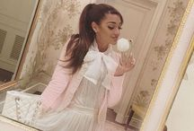 Ariana Grande / Ariana is a beautiful singer and actress.I like her music.Who does not love her?❤️
