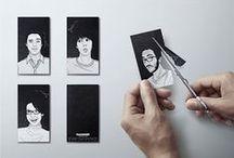 Business card inspiration / #business #businesscard #card #work #ideas #inspiration #design