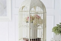 Bird cage / shabby chic, vintage, provence, wedding