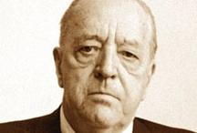 """Ludwig Mies van der Rohe / Ludwig Mies van der Rohe (27 March 1886, Aachen, Germany – 17 August 1969, Chicago, U.S.A.) was widely regarded as one of the pioneering masters of modern architecture. He is often associated with the aphorisms """"less is more"""" and """"God is in the details"""".  Ludwig Mies van der Rohe (27 Marzo 1886, Aquisgrana, Germania – 17 Agosto 1969, Chicago, U.S.A.) è ricordato come uno dei maestri del Movimento Moderno. E' spesso associato con gli aforismi """"di meno é di più"""" e """"Dio è nei dettagli""""."""