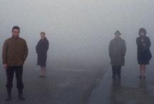"""Antonioni: nebbie - fogs / La sezione che dà avvio al percorso di mostra evoca le origini ferraresi del regista e le atmosfere rarefatte e silenziose che hanno nutrito il suo immaginario.  Con le sue nebbie leggendarie, i suoi odori """"di fiume, di erba e di donna"""", la città estense è il luogo della sua educazione sentimentale.  Lo sguardo di MICHELANGELO. ANTONIONI e le arti Ferrara, Palazzo dei Diamanti, 10 marzo – 9 giugno 2013"""