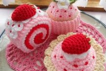 Queques y tortas crochet