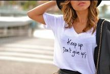 How to style a tee