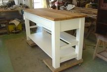 Custom Furniture / Furniture custom designed and built to fill the clients need.