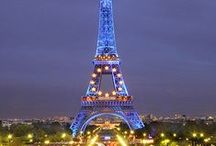 Paris...'City of Light and Love' / Paris 'City of Lights'.  Perfect city for love and romance.
