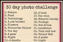 30 Day Photo Challenge / Do not photoshop, just resize the image. Feel free to participate.
