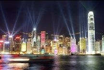 China...'Hong Kong' & Surrounding Places / China has the worlds largest population of 1.3 billion people.  It is very colorful and amazingly beautiful.  Hong Kong is a favorite place to visit.