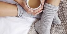 Cosy :: / Blankets, mugs, winter nights spent inside and cosy mornings under the covers.