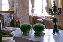 Elegant interiors , furniture and deco.