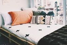 Dorm Décor on a Dime / Your living space should reflect your unique personality. Make your college dorm room stylish while on a budget with tips and DIY ideas.
