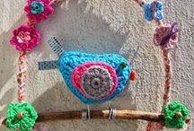 Tejidos / Artesanias tejidas. Moda y accesorios tejidos en crochet. Ganchillo
