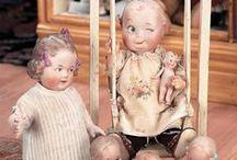 antique dolls and dollsclothes