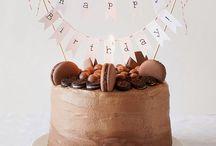 Birthday cake ::