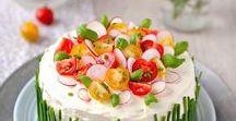 A different Take on Cake / Sandwich cake / Voileipäkakku  / Smörgåstårta