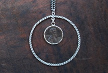 Wish Catcher / The penny represents luck and abundance. Wear your wish catcher and carry your dream with you everyday.