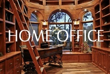 Spaces - Home Offices / Great ideas for a home office and study remodel or new construction