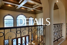 Spaces - Home Details / Great ideas for the little details that make a home a home.  Perfect for a remodel or new construction.