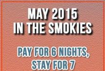Things to Do in May / Fun and often free things to do in the Smoky Mountains area during the month of May.