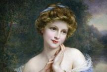 Vintage Ladies / The victorian era: from 1837 until 1901.  Vintage: anything 20 years or older.