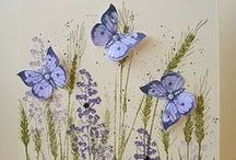 Cards: Butterflies & Other Bugs / Inspiration for the online hobby that keeps me outta trouble . . . most of the time ♥