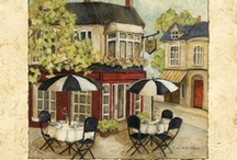 ART Dining Out / Bars, Bistros, Cafes, Tea Shoppes, etc ... paintings by some of my favourite artists.  Please respect their copyright ... and enjoy.