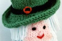 Holiday Theme  Knitting and Crochet Patterns / These holiday items are knitting ePatterns, available for immediate download. Your selections will be emailed to you as PDF files as soon as your order is completed. / by Frugal Knitting Haus