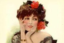 ART Mr Fisher & Others / Harrison Fisher 1875 - 1934; Henry Hutt 1875 - 1950; Charles G. Sheldon 1889 - 1960; Charles Dana Gibson 1867 - 1944.     All the pretty ladies ... hope you enjoy.