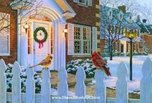 ART Christmas / Favourite Christmas artworks & illustrations.  Please respect the artist's copyrights ... and enjoy.