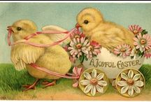 Vintage Easter / Delightful images of Easter from 20 years ago and beyond.