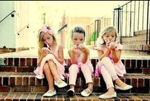 Girls will be Girls / Sugar and spice and all things nice.... that's what little girls are made of!